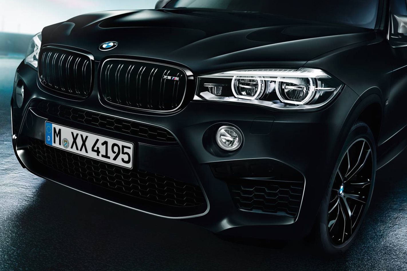 BMW X5 M and X6 M Black Fire Editions front