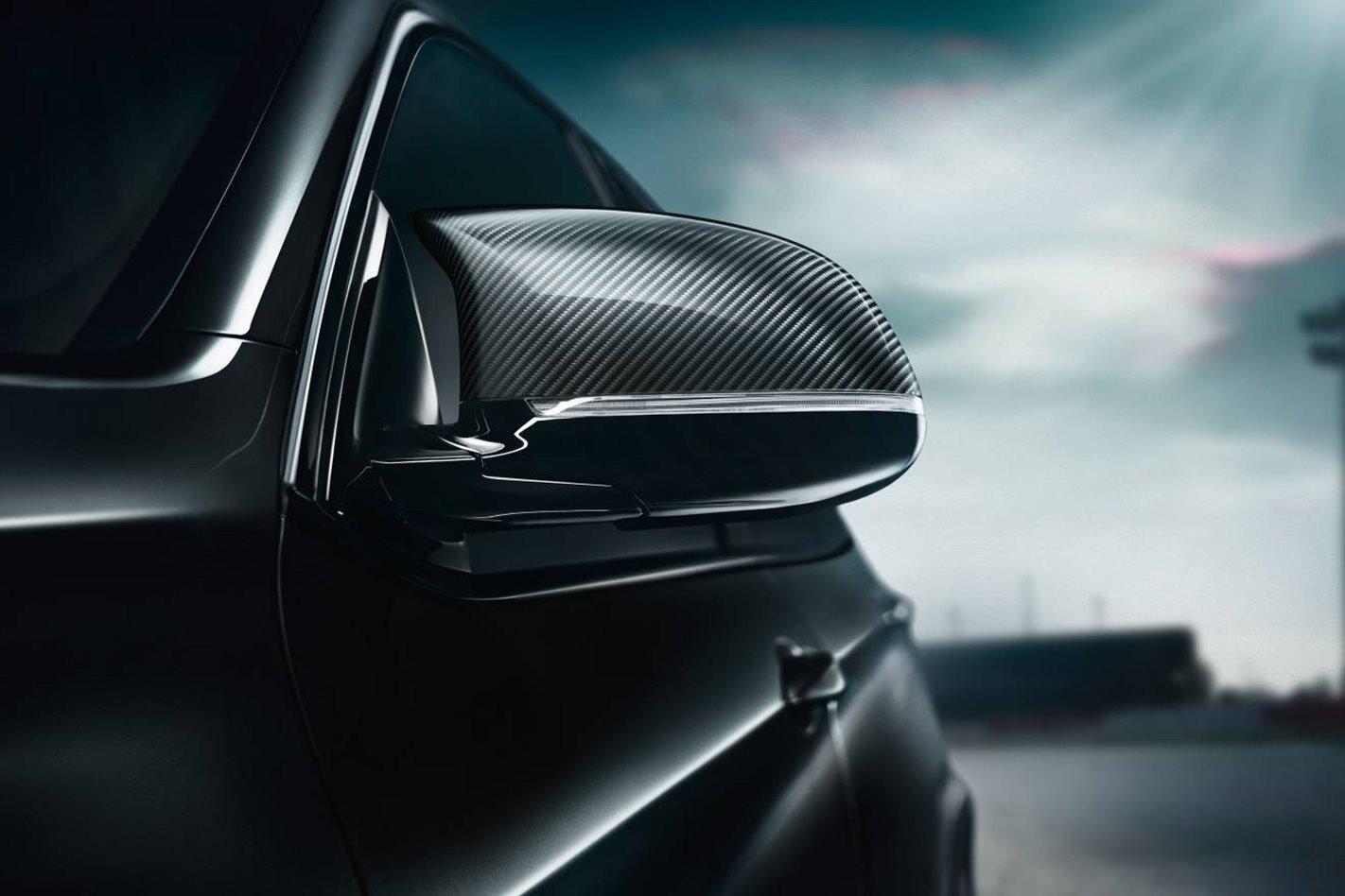 BMW X5 M and X6 M Black Fire Mirror cap