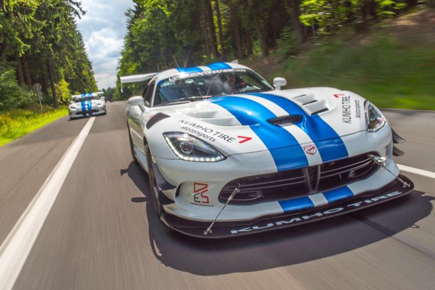 Dodge Viper ACR Nürburgring lap