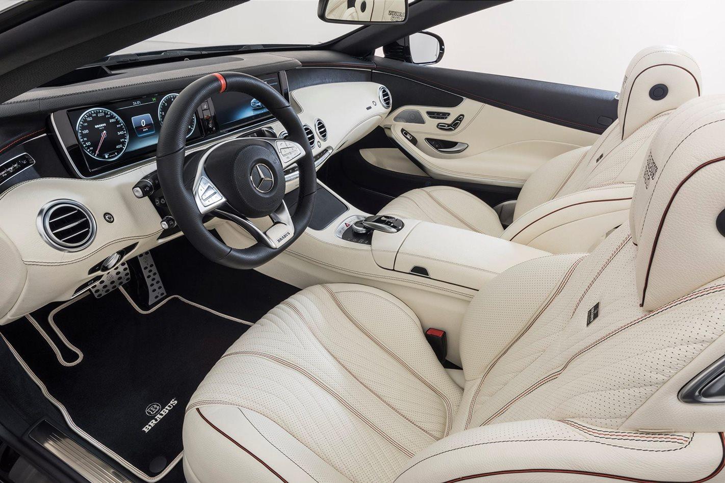 Mercedes-AMG S 65-based Brabus Rocket 900 interior