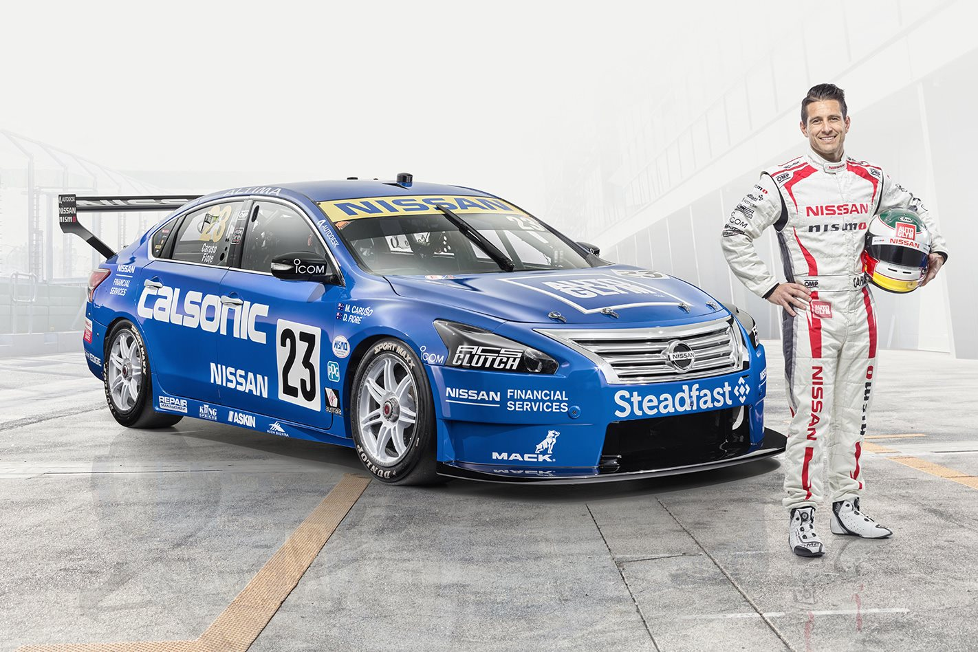 Michael Caruso's Nissan Calsonic R32 GT-R Skyline