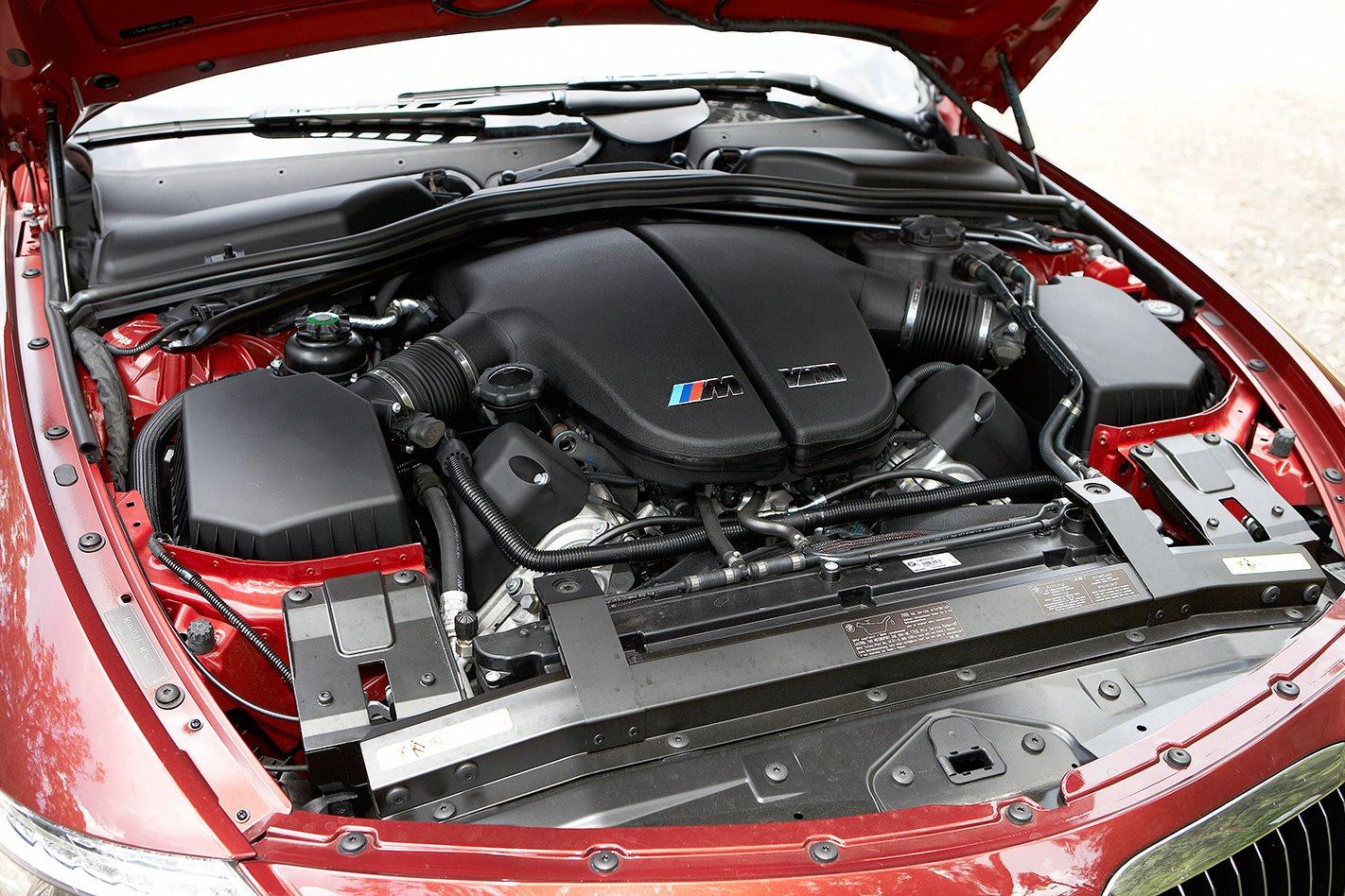 2008 BMW M6 engine