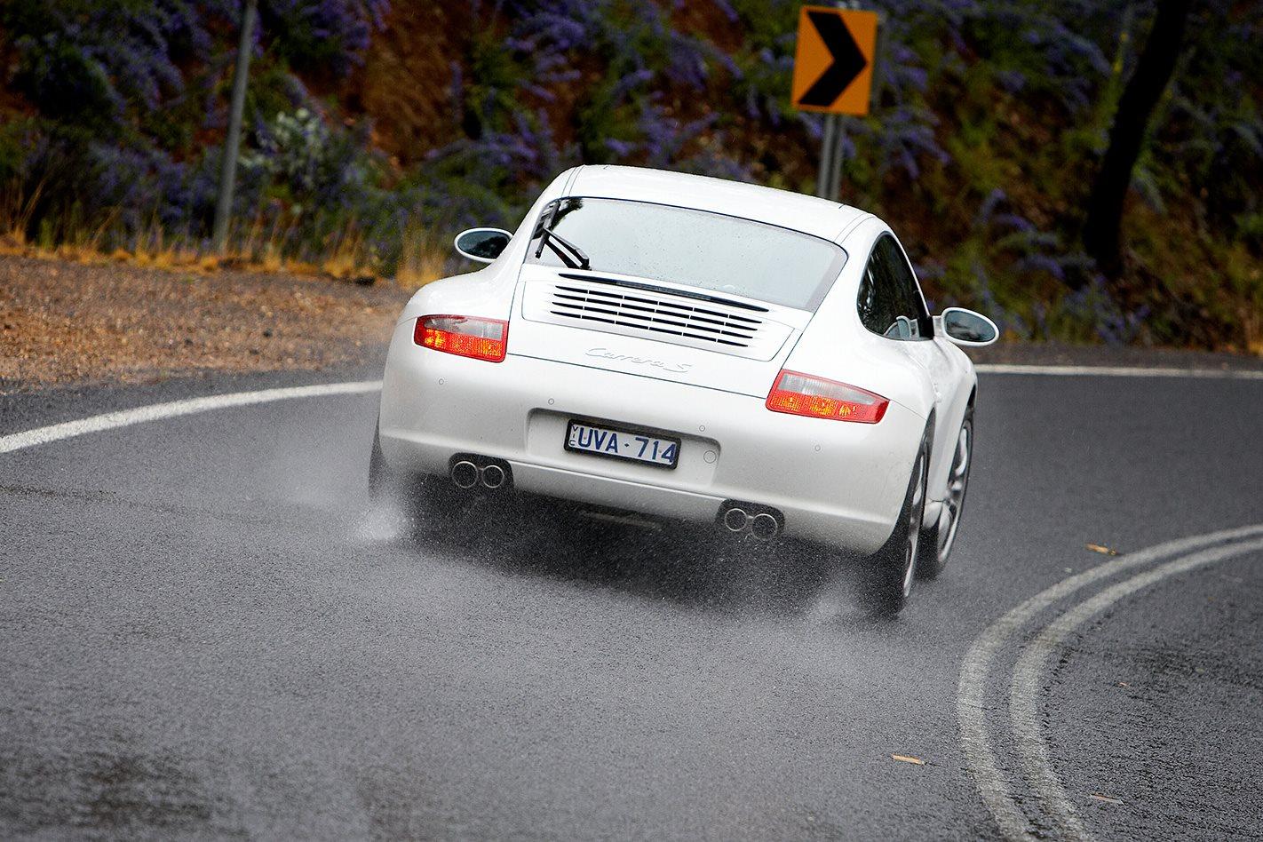 2008 Porsche 911 Carrera S rear