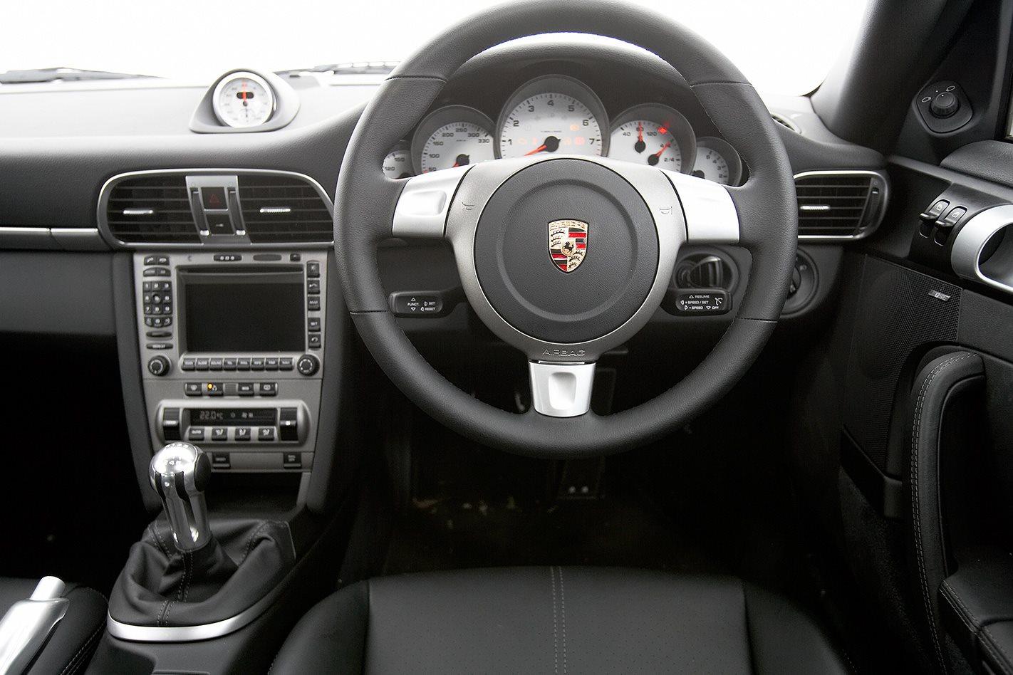 2008 Porsche 911 Carrera S steering wheel