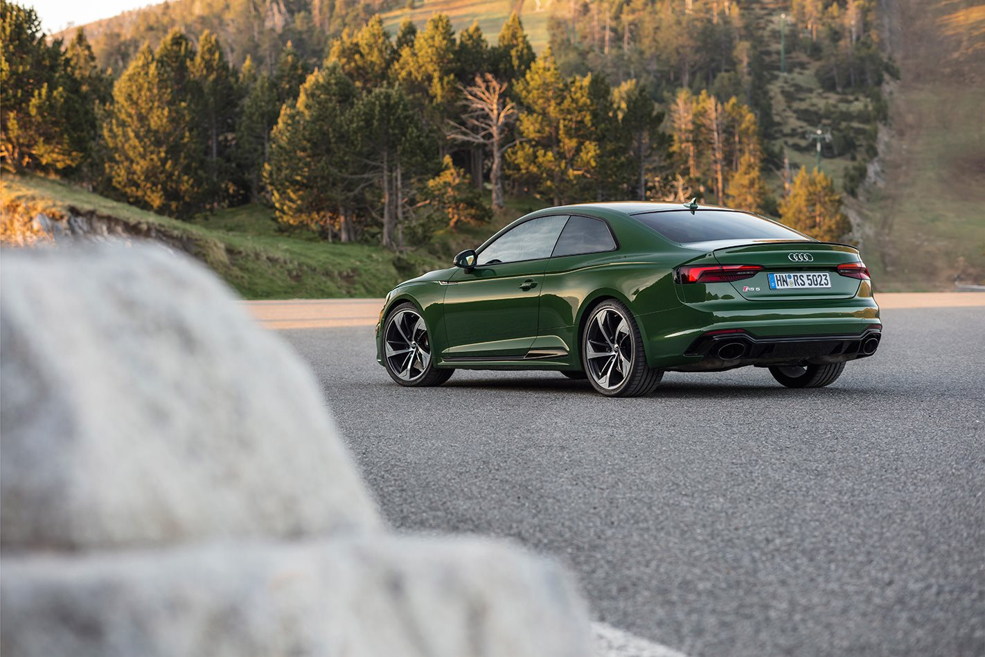 2018 Audi RS5 Coupe rear