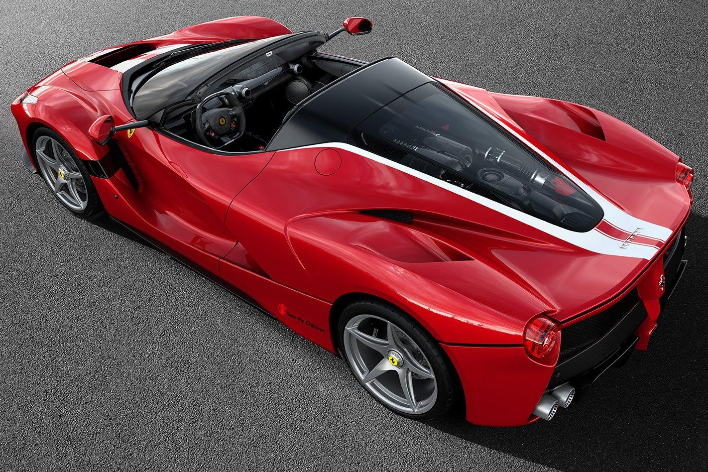 Ferrari LaFerrari Aperta rear