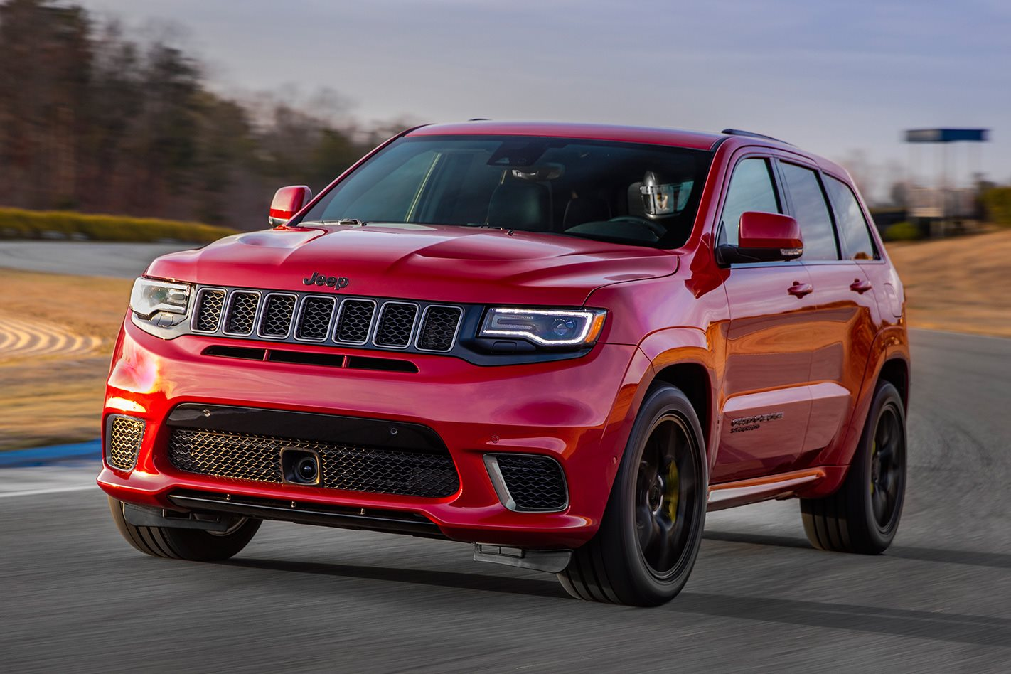 Jeep Grand Cherokee Trackhawk Oz front