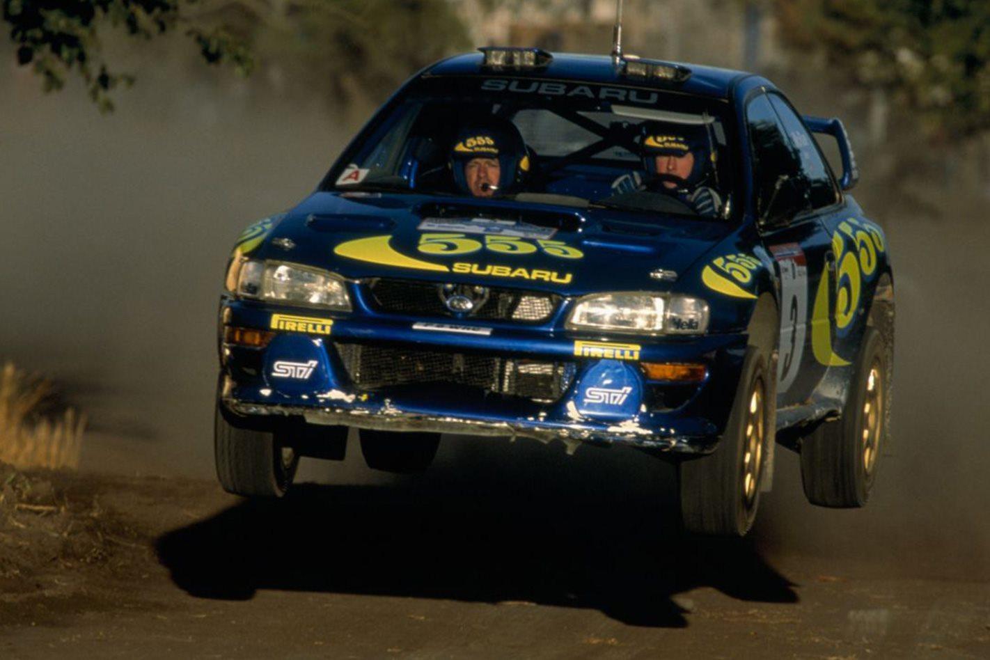 1999 Subaru WRX STi 22B Rally car