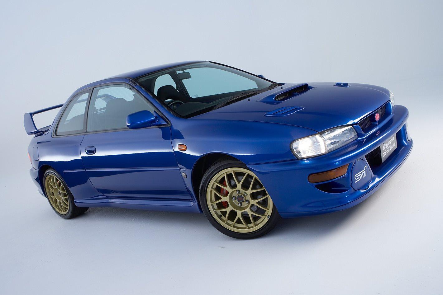1999 Subaru WRX STi 22B exterior