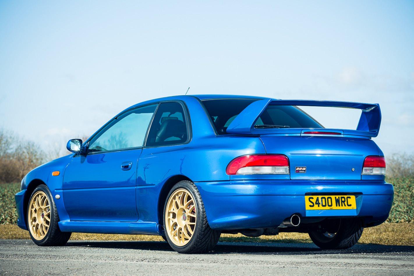 1999 Subaru WRX STi 22B rear