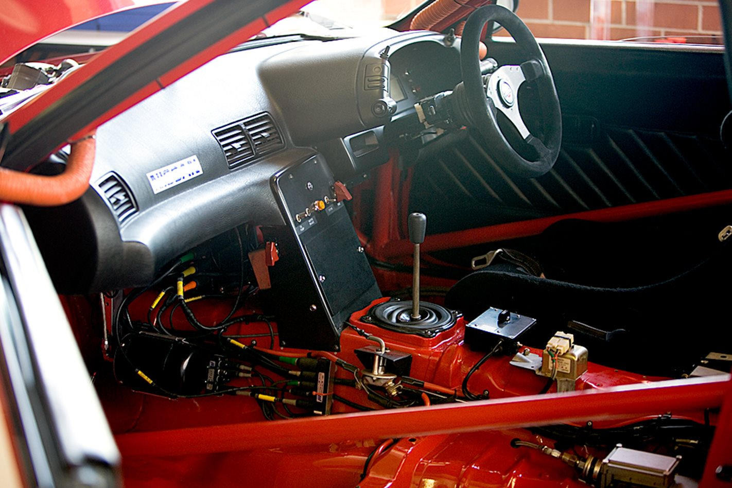 Group A Nissan R32 Skyline GTR interior