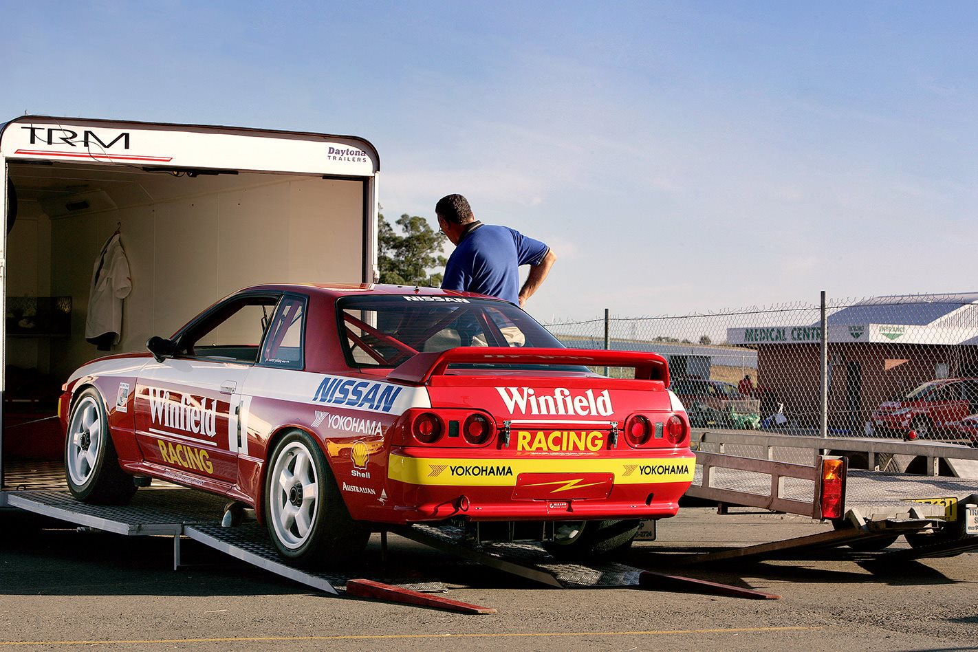 Group A Nissan R32 Skyline GTR rear