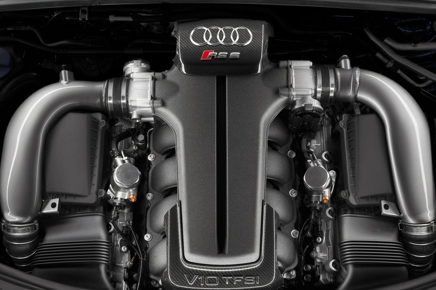 2008 Audi RS6 Avant engine