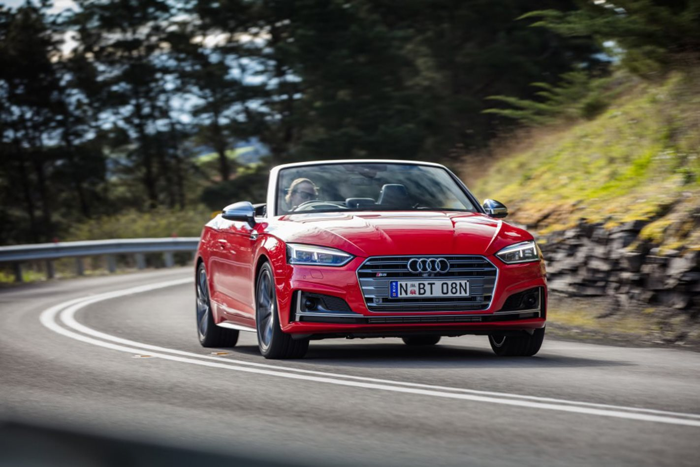 2017 Audi S5 Cabriolet front