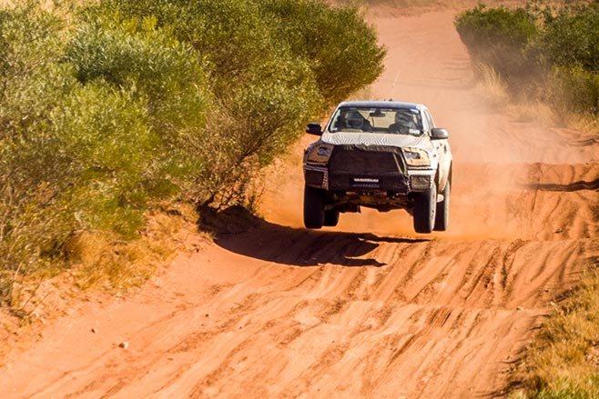 Ford Ranger Raptor jump
