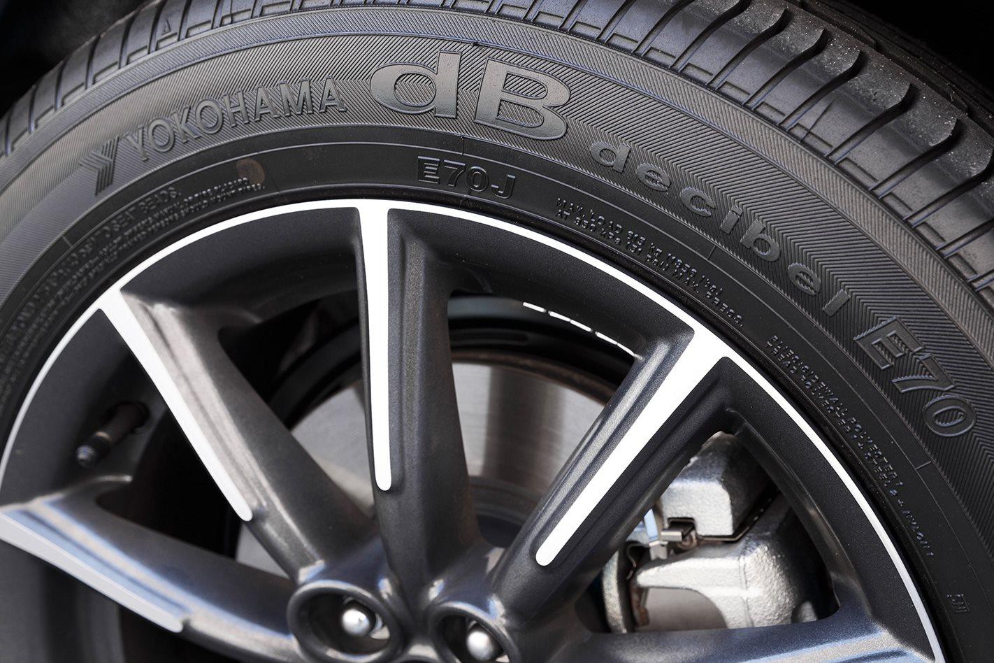 2017 Toyota 86 tyres