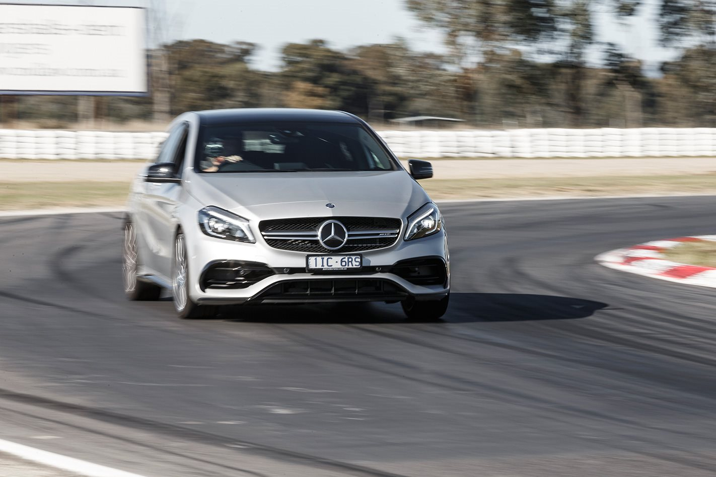 2017 Mercedes AMG A45 front.jpg