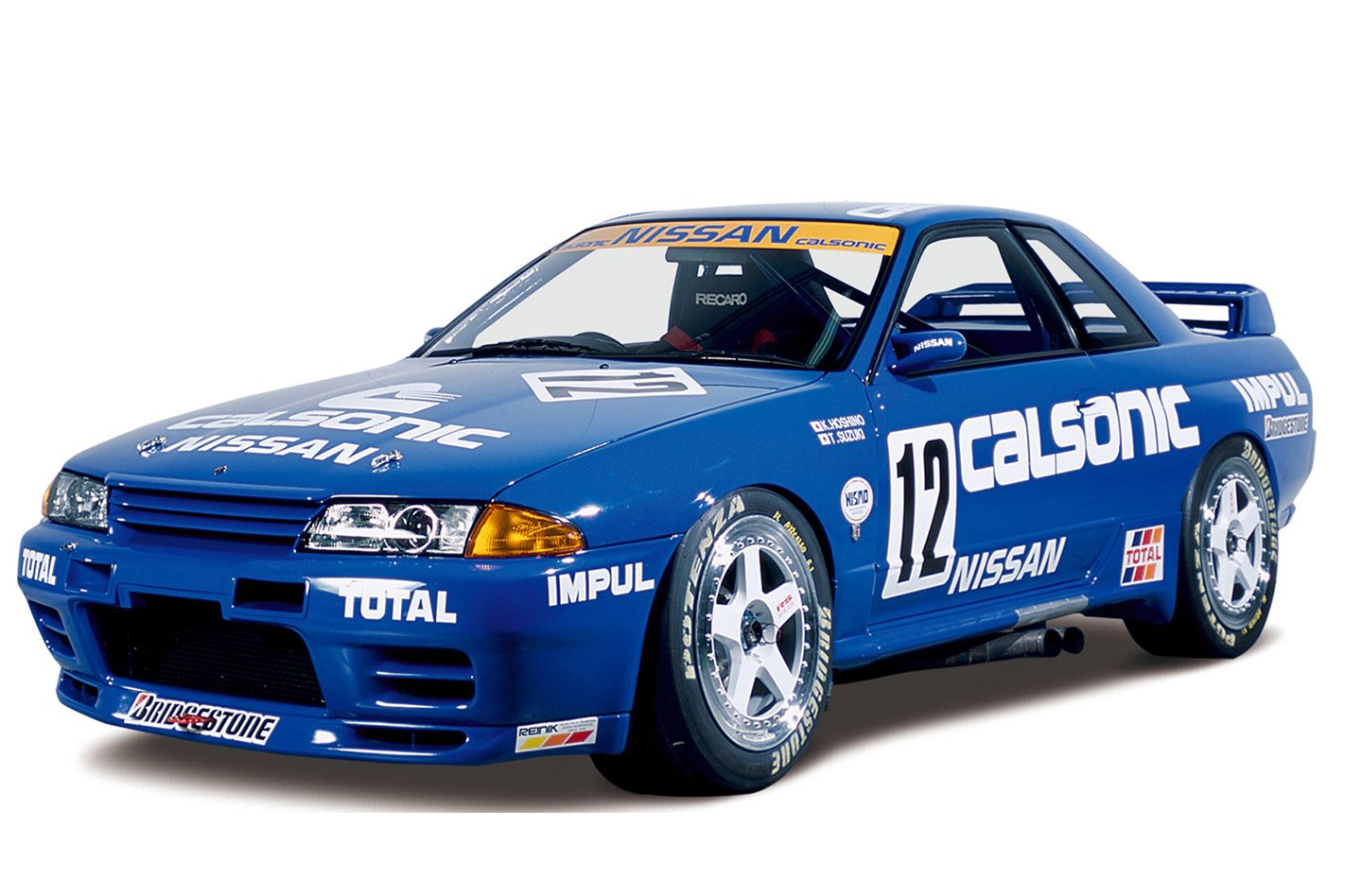 Calsonic Nissan R32 GT-R front
