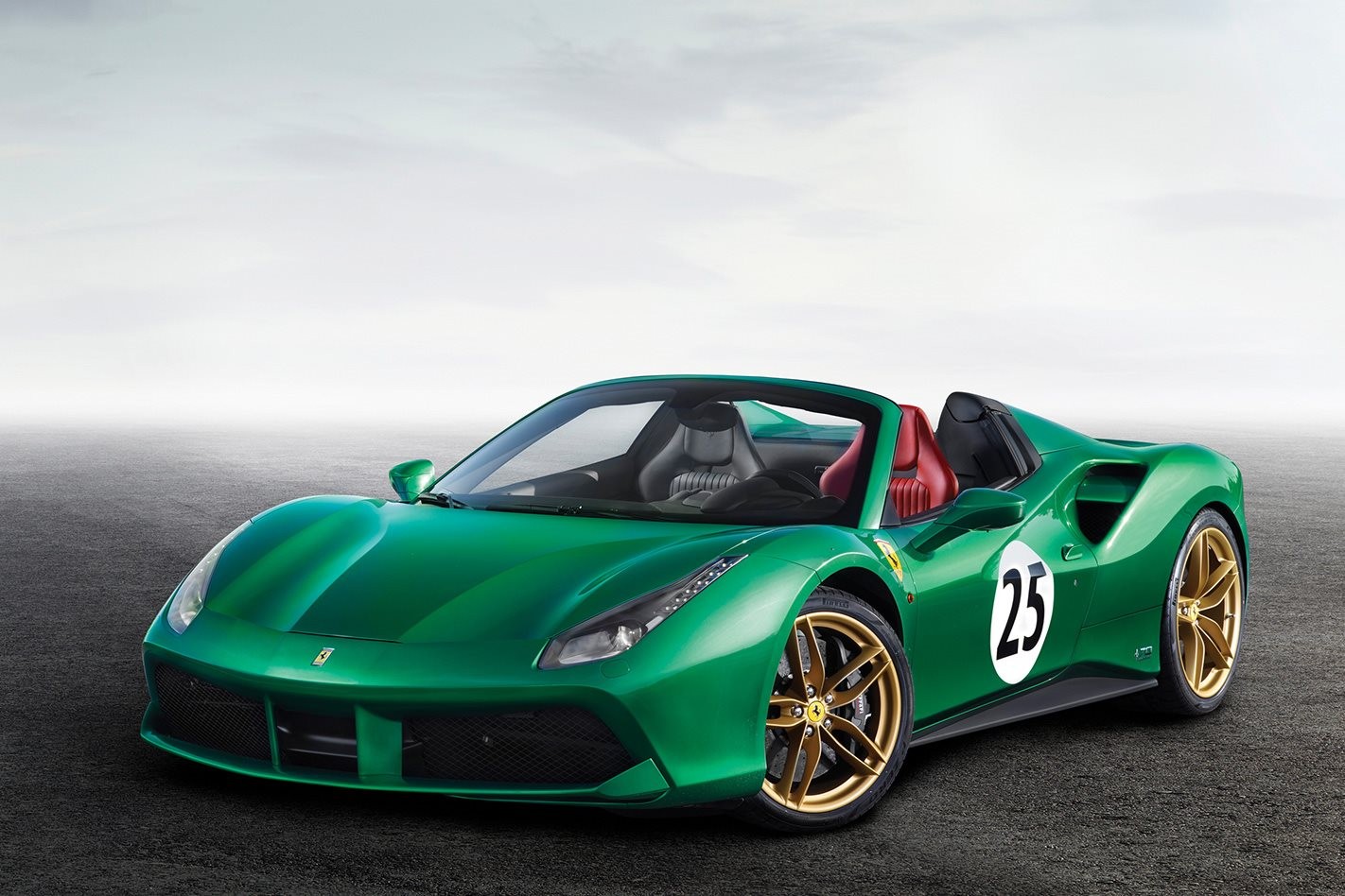 2016 Ferrari 488 Spider Green Jewel