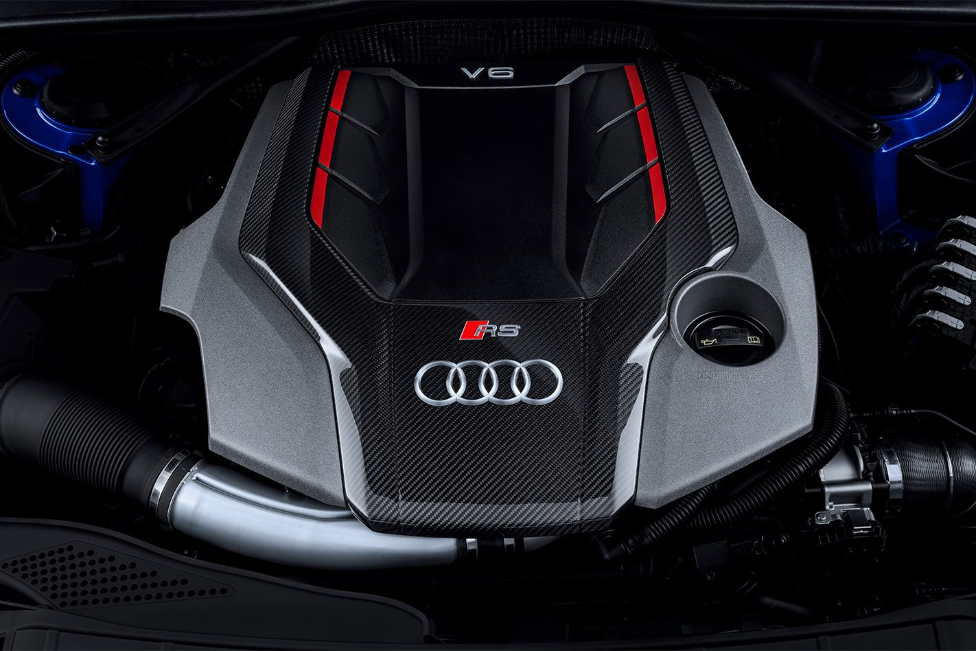 2018 Audi RS4 Avant engine
