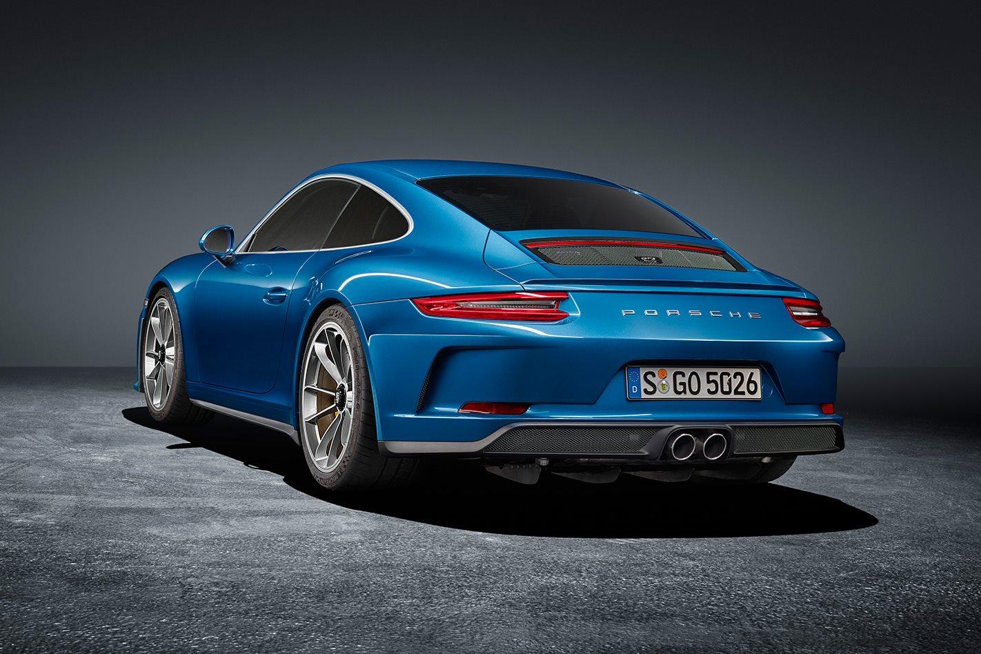 2018 Porsche 911 GT3 Touring rear