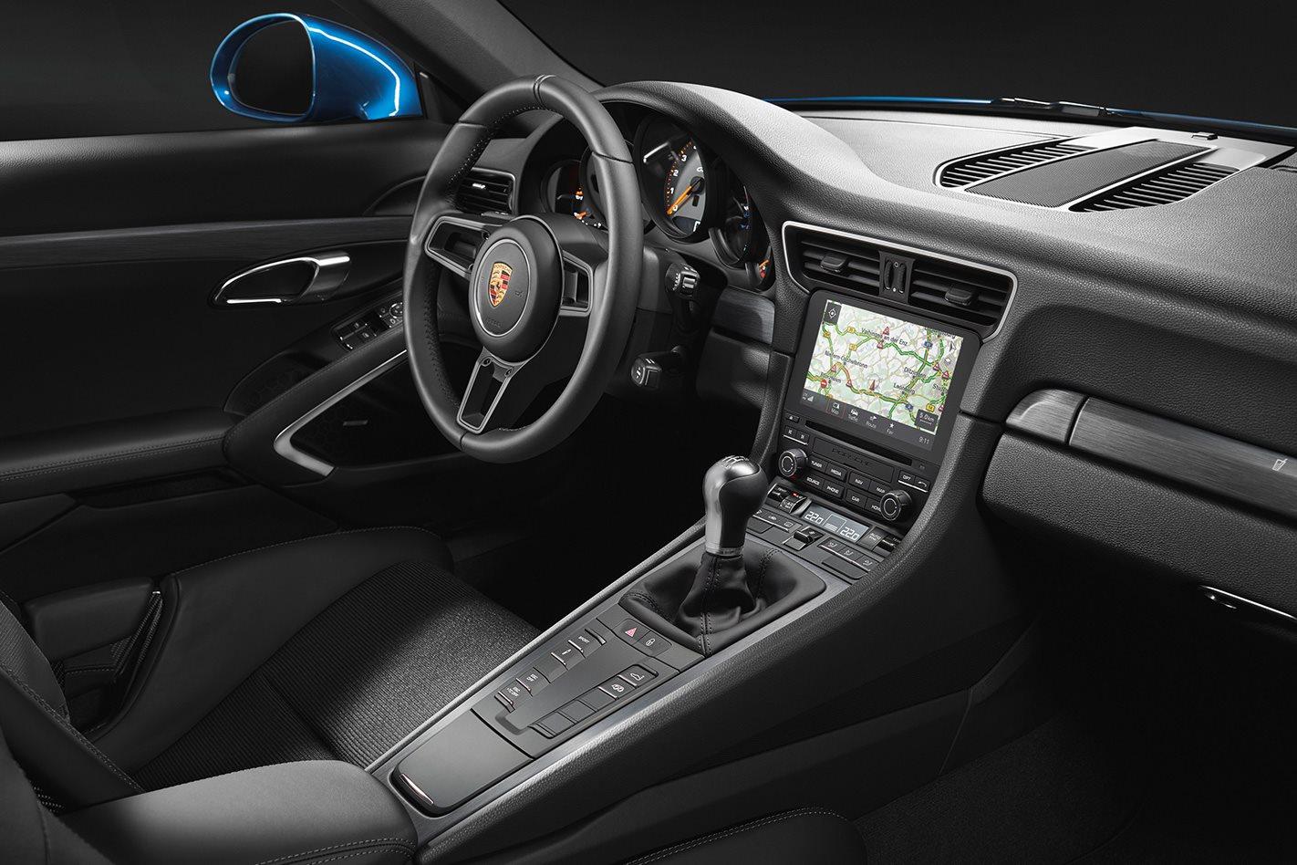 2018 Porsche 911 GT3 Touring interior