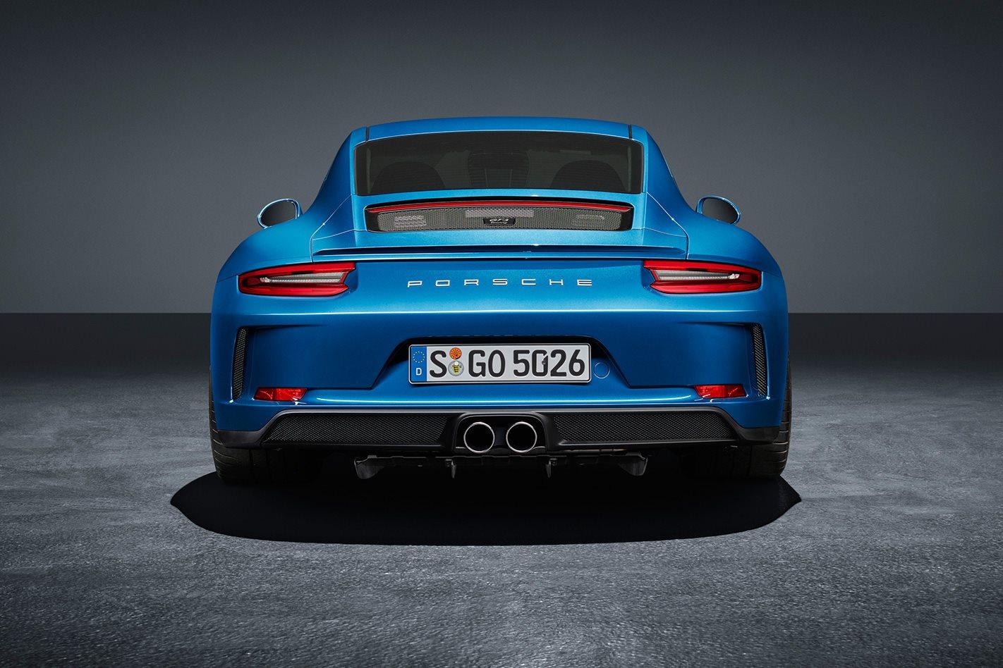 2018 Porsche 911 GT3 Touring exterior