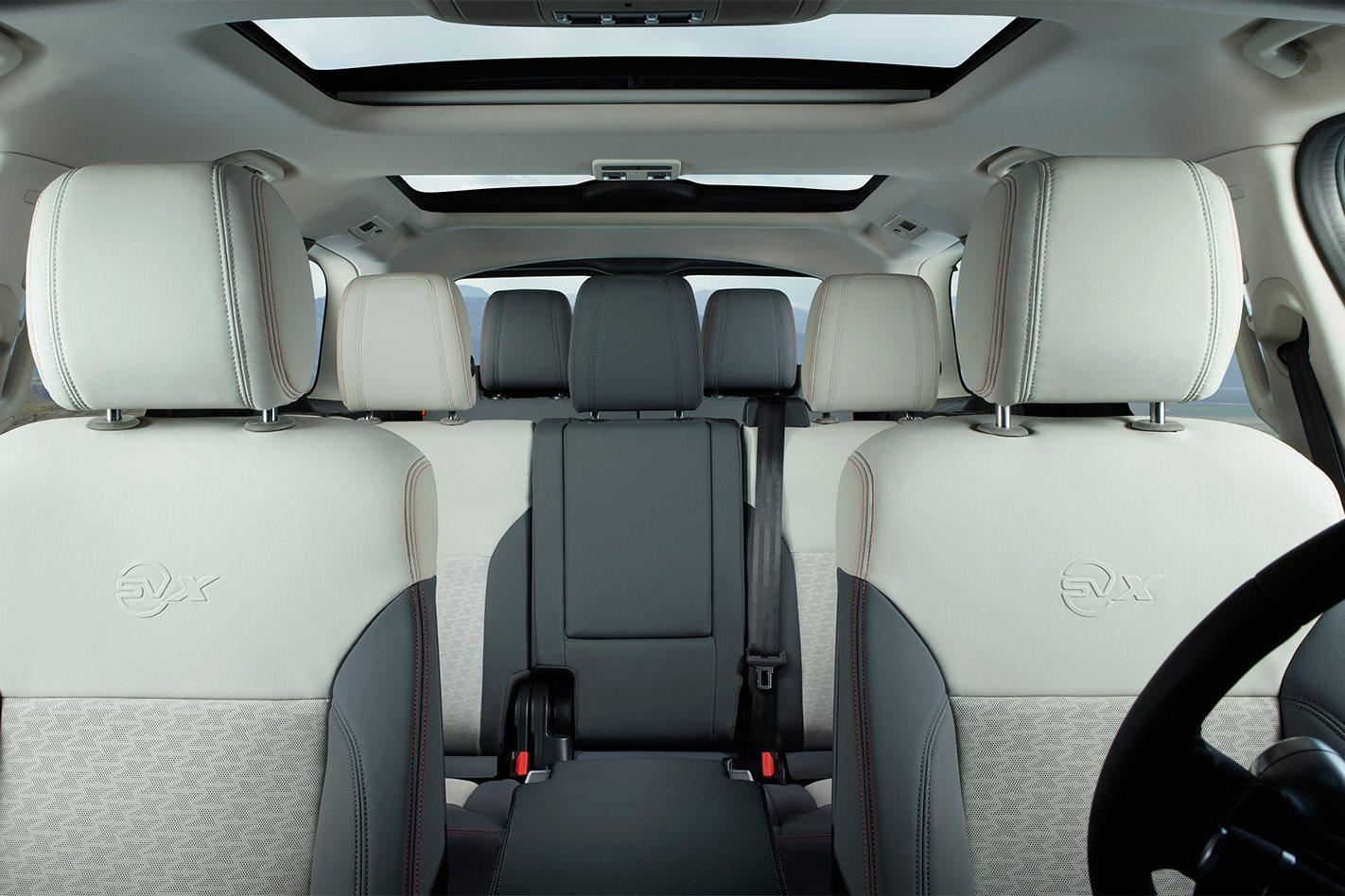 Land Rover Discovery SVX interior