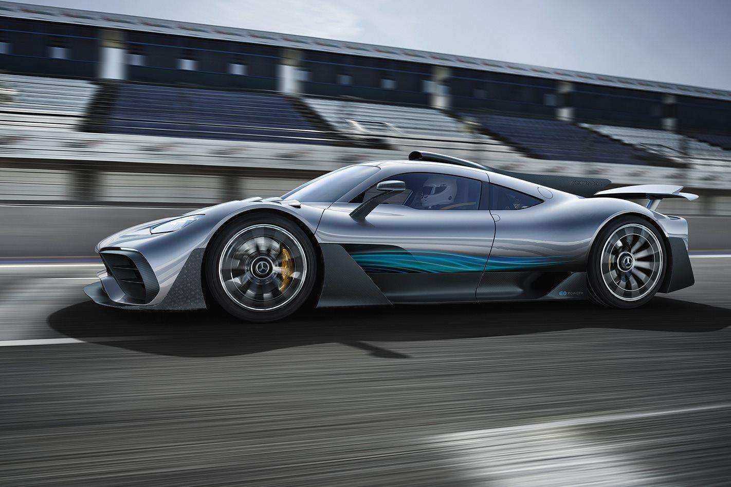 Frankfurt Motor Show Mercedes Amg Project One Debuts