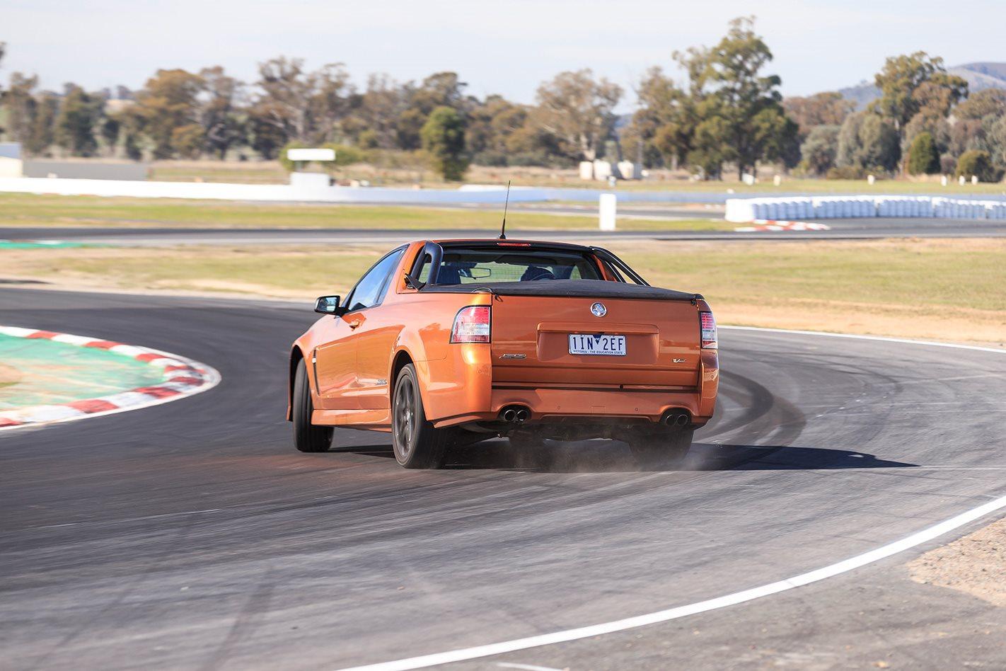 2017 Holden SS V Redline Ute rear.jpg