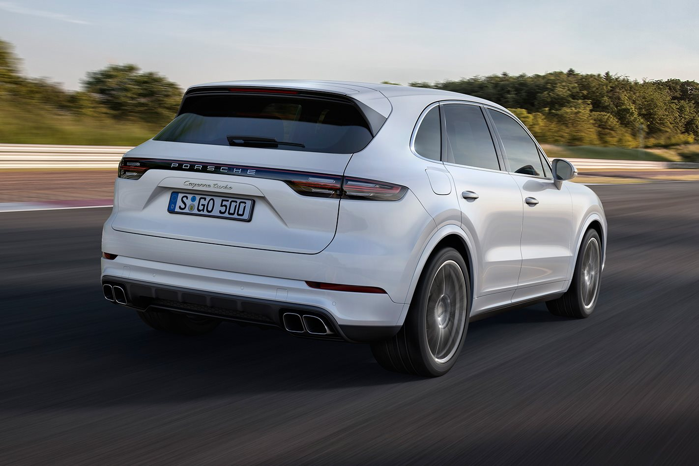 Frankfurt Motor Show 2018 Porsche Cayenne Turbo Revealed