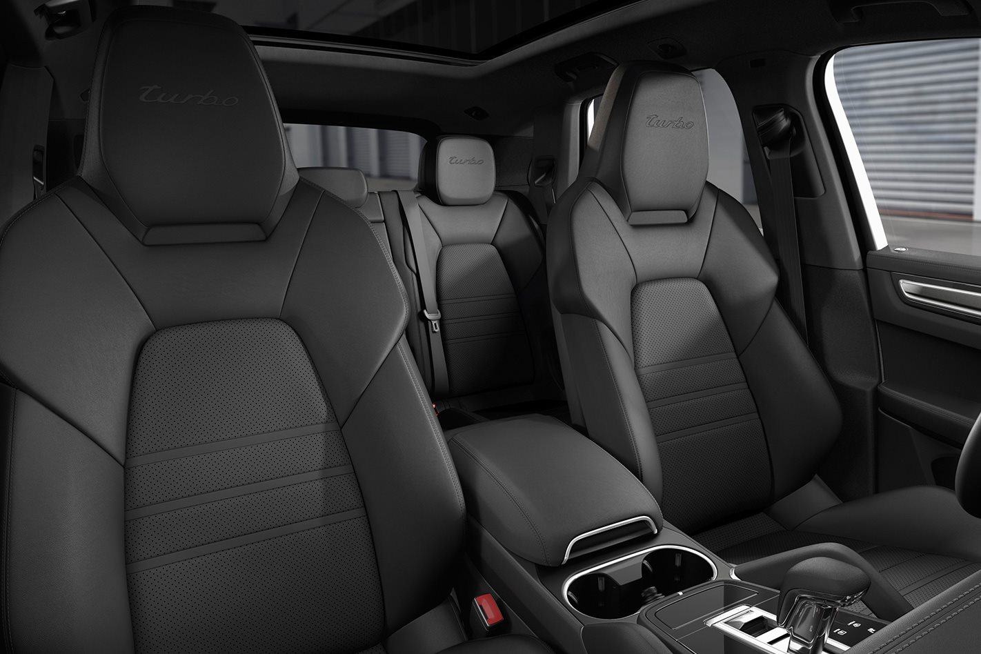 2018 Porsche Cayenne Turbo seats
