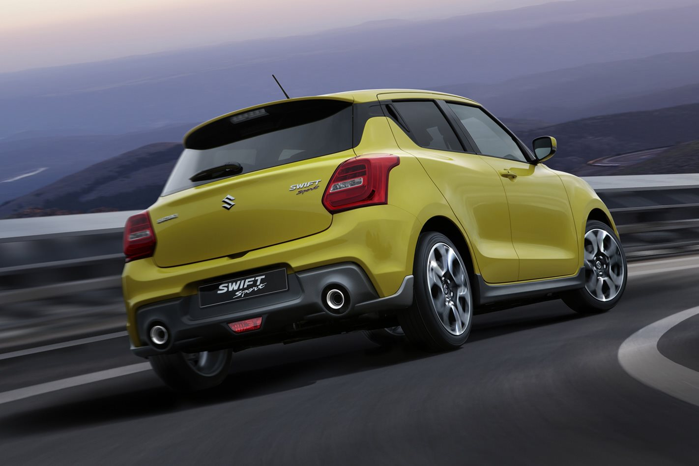 2018 Suzuki Swift Sport rear.jpg