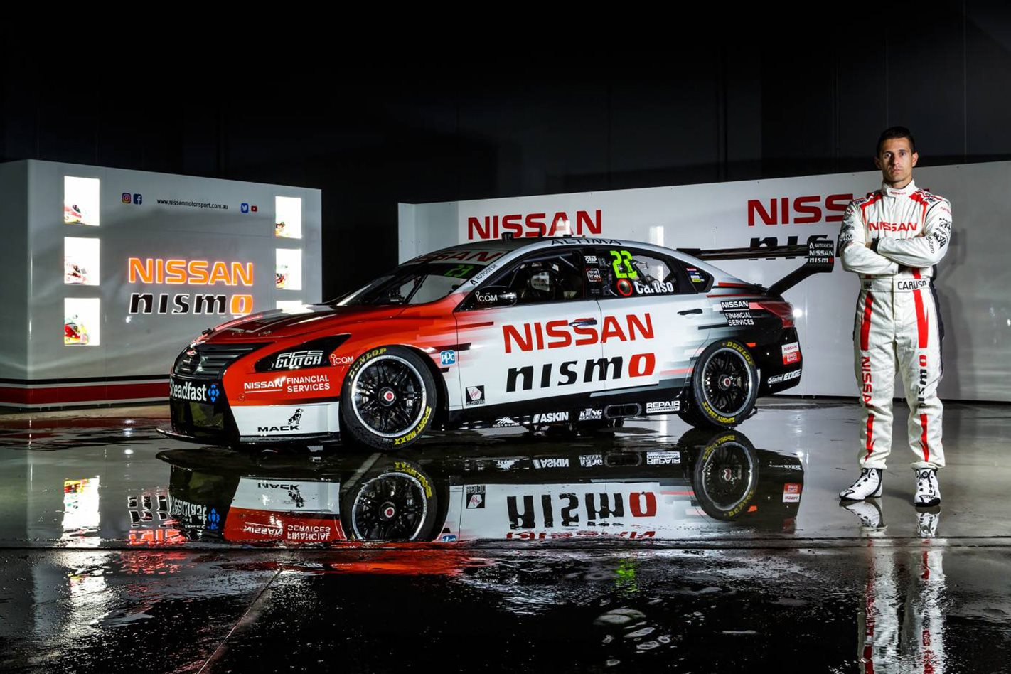 Michael Caruso 2017 Nissan Team
