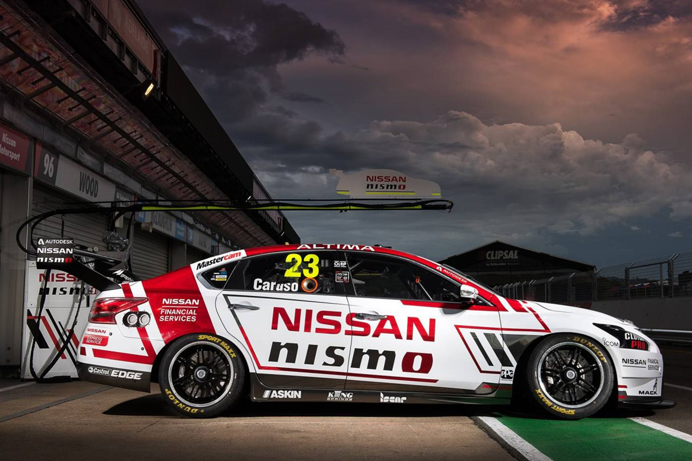 2017 Nissan Nismo V8 Supercar side