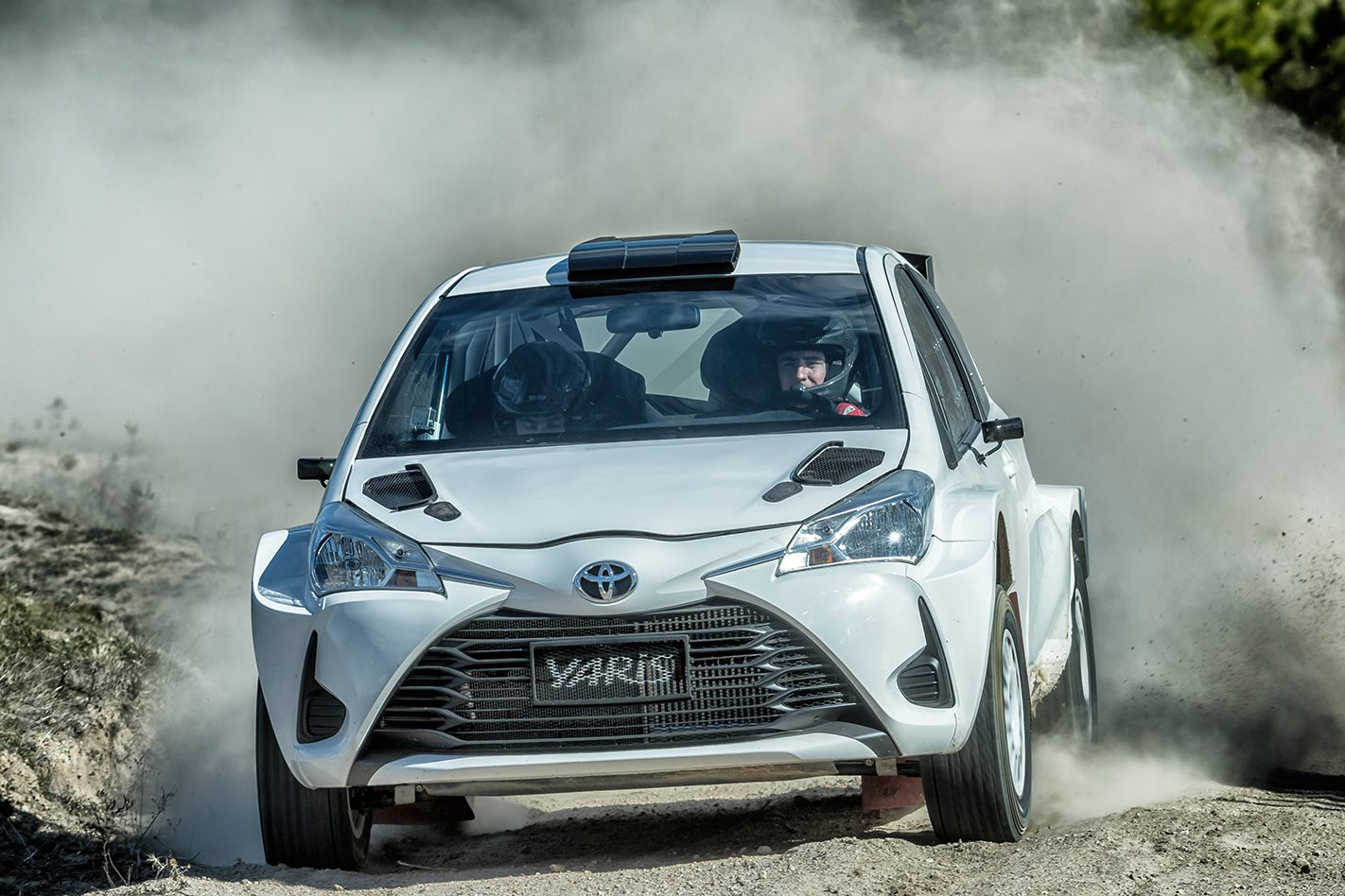 New Toyota Yaris AP4 rally car debuts at ARC