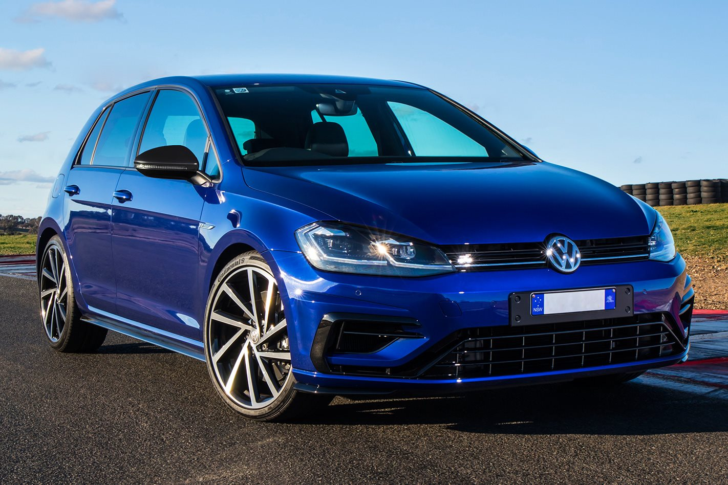 2018 Golf R Grid Edition mock