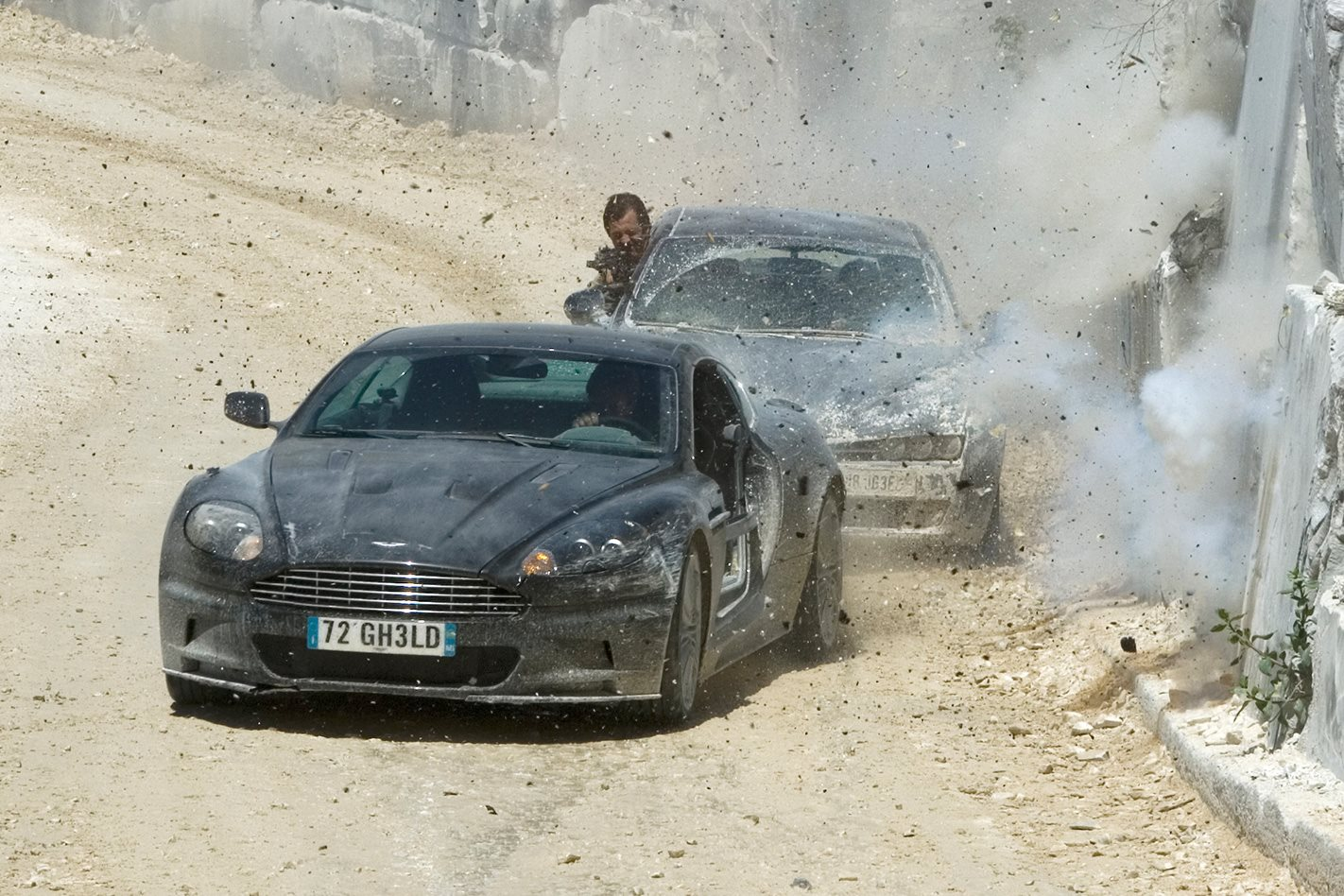 Aston Martin DBS - Casino Royale (2006) Quantum of Solace (2008)