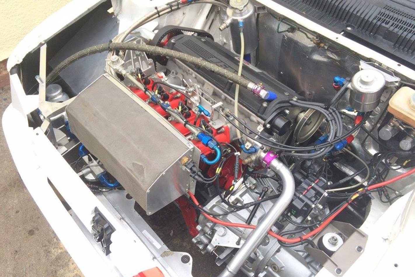 Peugeot 205 built by F1 engine