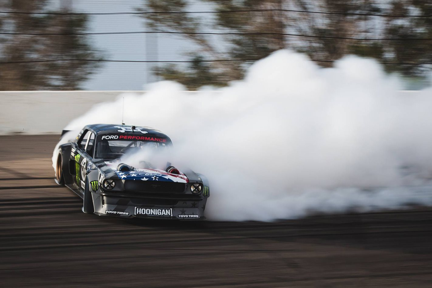 Benz Drift Car >> Ken Block testing his Hoonicorn Mustang V2