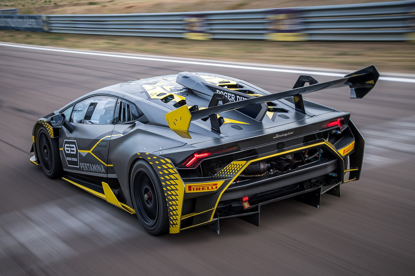 a3e7fb2db4f New Lamborghini Huracán Super Trofeo race car unveiled