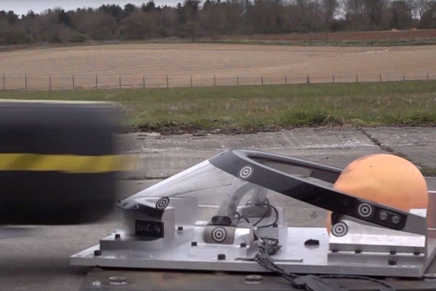 The Halo F1 testing