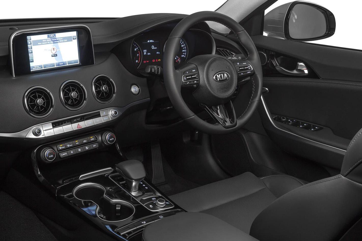Kia-Stinger-2.0-litre-interior
