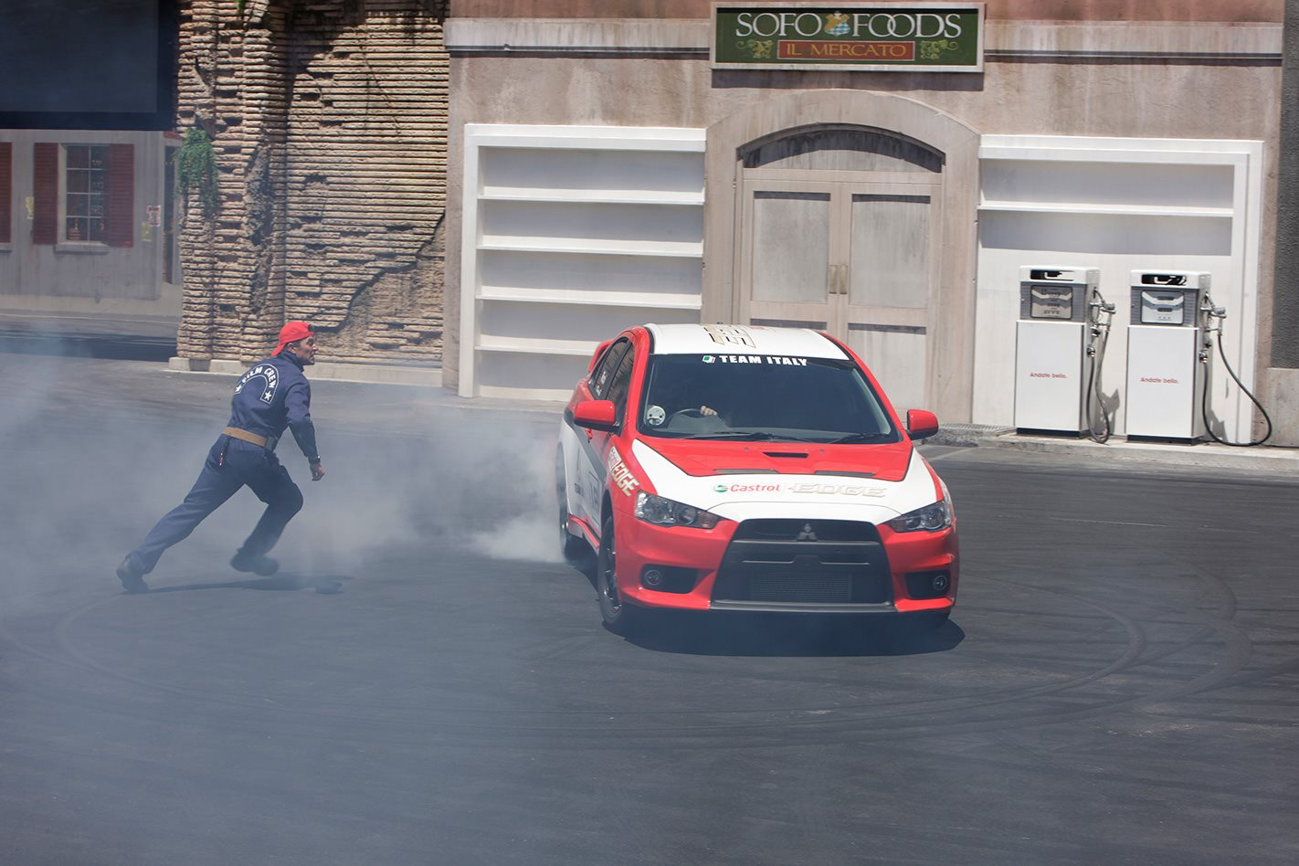 The Stunt driver's movieworld show