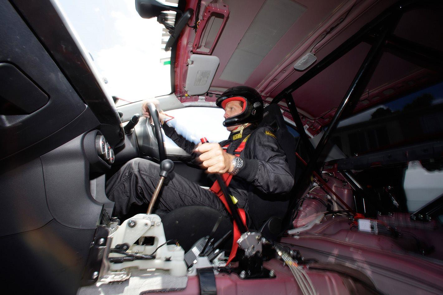 Mitsubishi Evolution X interior.jpg