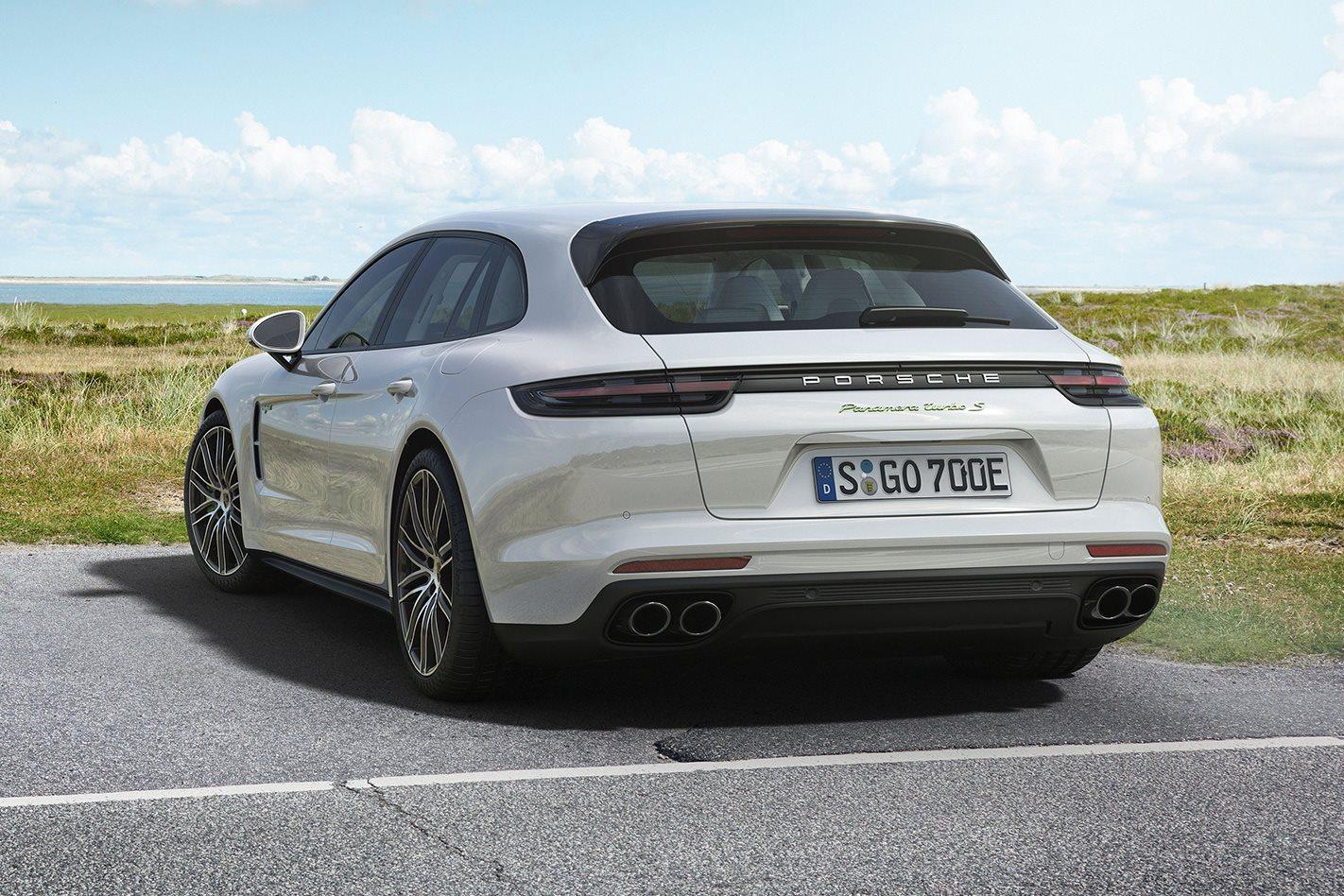 Porsche Turbo S E-Hybrid Sport wagon rear