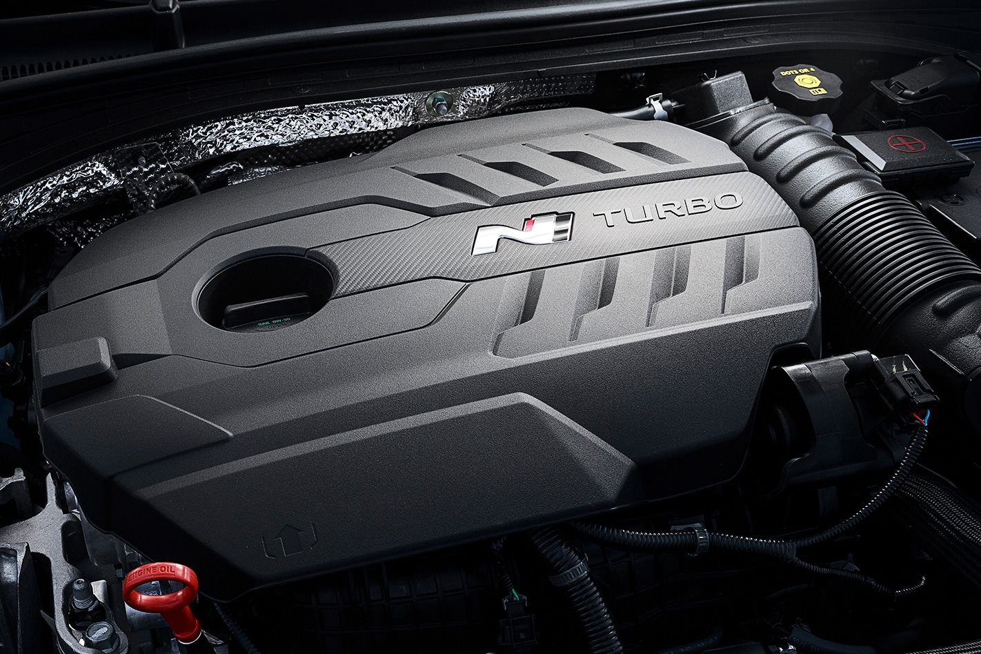 2018 Hyundai i30 N engine