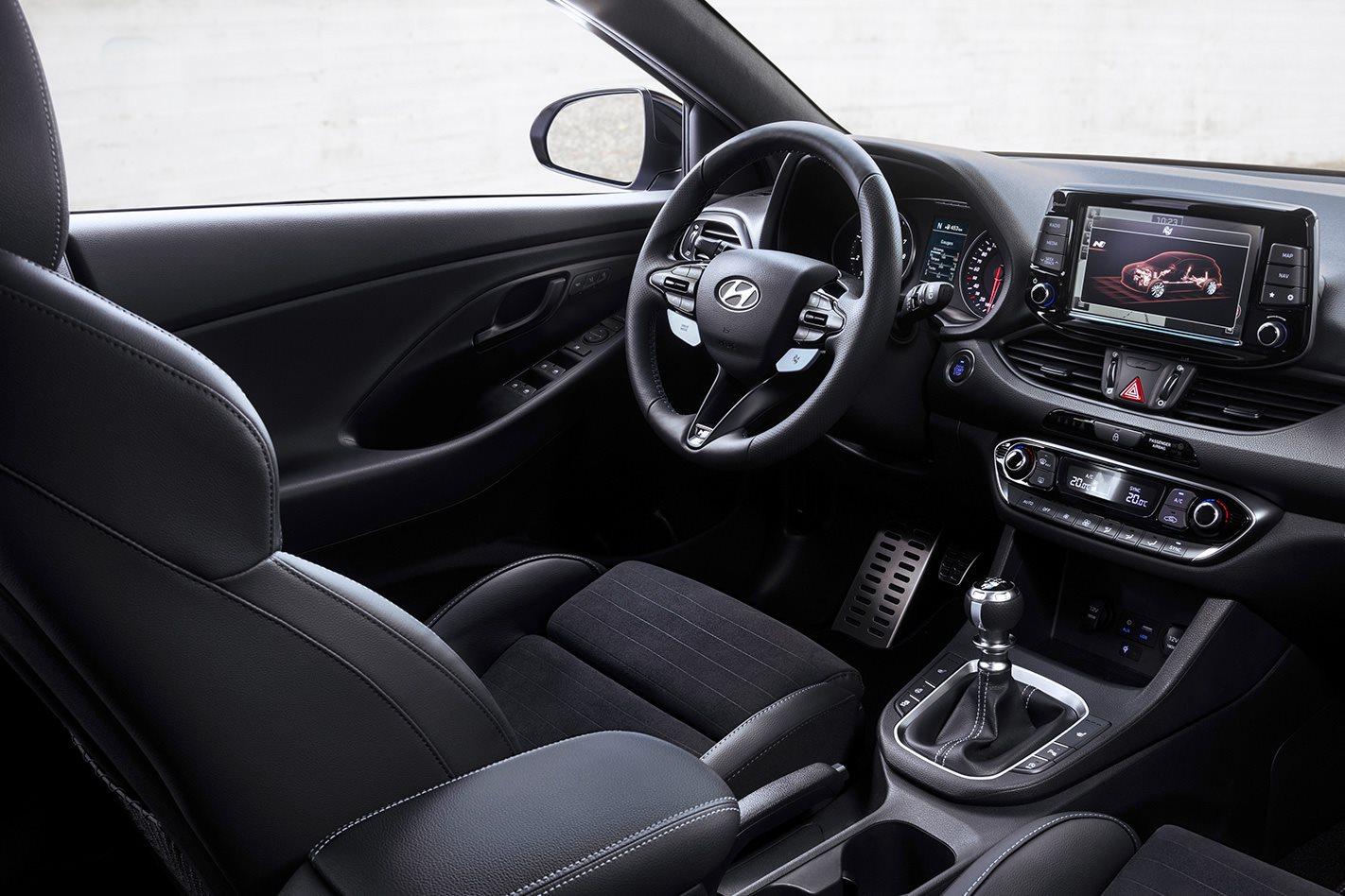 2018 Hyundai i30 N interior