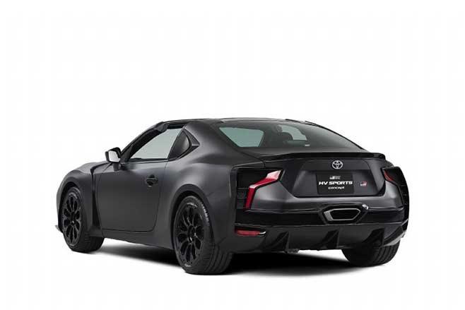 Toyota GR HV concept rear