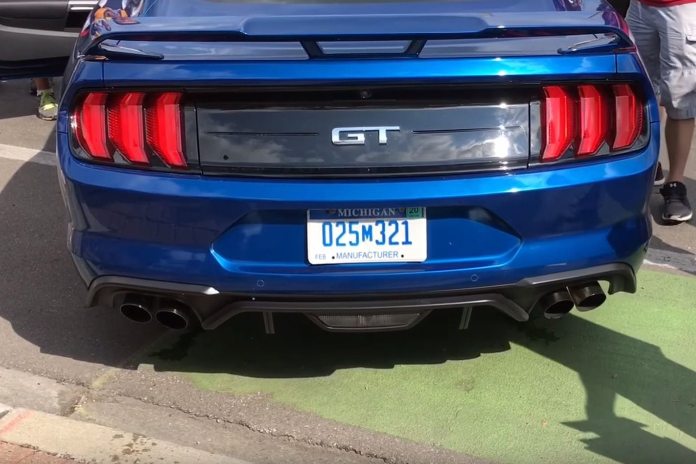 Ford Mustang Gt Exhaust Jpg
